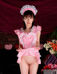 Beautiful asian cosplay girls in various costumes